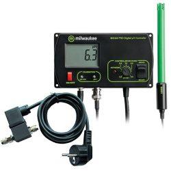 MC122 PRO pH kontroller MA955 mágnes szeleppel ellátva