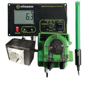 MC720 PRO pH kontroller és pumpa