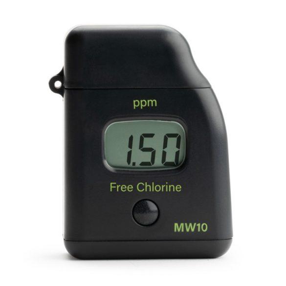 MW10 szabad klór fotméter