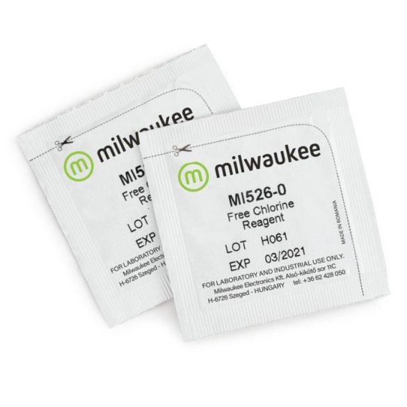 Mi526-25 szabad klór reagens készlet