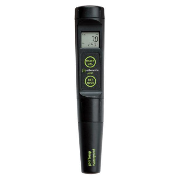 pH55 PRO vízálló pH zsebteszter cserélhető elektródával